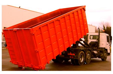 вывоз мусора Камаз 27 кубов