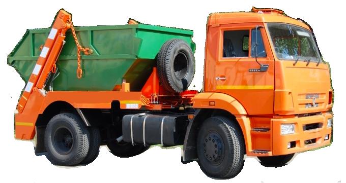 вывоз мусора КАМАЗ 8 кубов
